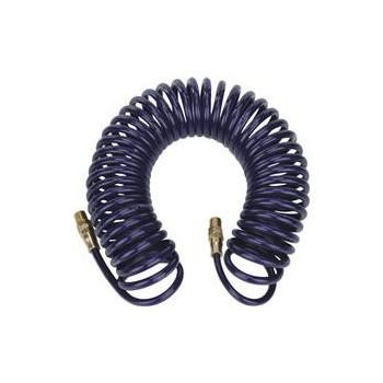 PU vzduchová spirálová hadice 8x12mm 15m