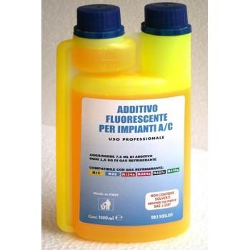 Fluorescenční kapalina pro chladivo r134
