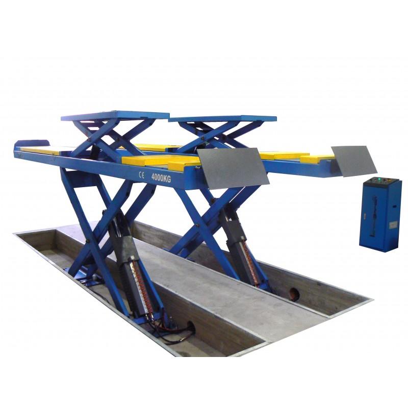 Nůžkový zvedák 4000 kg pro geometrii